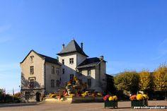 """Hôtel de ville """"Le château des marquis d'Aix"""" , Aix-les-Bains , Savoie"""