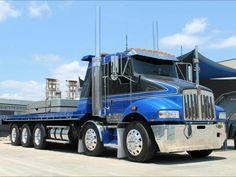 Travel Trailer Story – The Towing Guide Big Rig Trucks, Tow Truck, Semi Trucks, Cool Trucks, Custom Big Rigs, Custom Trucks, Kenworth Trucks, Flatbed Towing, Peterbilt