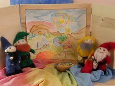 Waldorf ~ 1st grade ~ Math ~ Four Processes ~ math gnomes + story