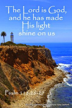 My Daily Inspiration Bible Verses: He has made his light shine on us