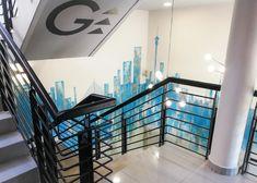 158 JAN SMUTS – Schematic Design Schematic Design, Ground Floor, Wall Murals, Pendant Lighting, Design Elements, Signage, Entrance, Building, Modern