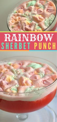 This formula highlights Rainbow Sherbet Punch. This punch utilizes a great sherbet matched with natural product punch and soft drink. It's lovely and delectable punch formula. Rainbow Sherbet Punch Recipe, Sorbet Punch, Sherbert Punch Recipes, Pink Punch Recipes, Alcoholic Punch Recipes, Easy Punch Recipes, Rainbow Punch, Rainbow Drinks, Hawaiian Punch