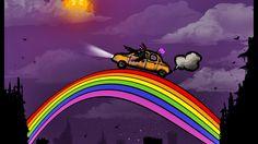 ride the rainbow 3d desktop wallpapers