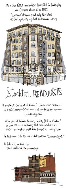 Cool way to tell a terrible story of Stockton, California. From the `Boston Review.`