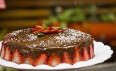 bolo de chocolate receita no livro