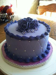 @KatieSheaDesign ♡❤ #Cake ❥ Purple cake