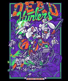 Dead Hunters by Mr. Kone, via Behance