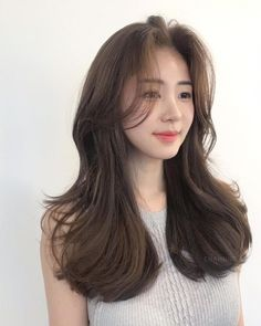 - Top 10 Best Korean Hair Salon in Gardena, CA - Last Updated . Korean Wavy Hair, Korean Hair Color, Hair Korean Style, Brown Hair Korean, Haircuts For Long Hair, Cool Hairstyles, Korean Hairstyles, Korean Hairstyle Long, Japanese Hairstyles