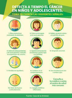 Detecta a tiempo el cáncer en niños y adolescentes #salud #bienestar #infantil