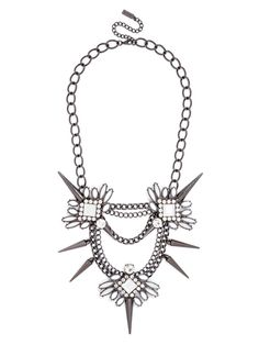 Spiked Lily Necklace Necklace | BaubleBar