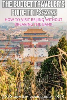 Budget Travel Beijin