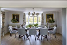 Sims Hilditch, The Garden House Dining Room