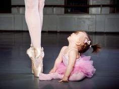 little pink dancer