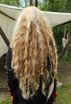 Wild Viking Inspired Hair... GORGEOUS!!! :)