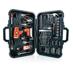 Home Tool Kit Black & Decker 20-volt Lithum Drill 133 Pcs Case Stud Finder Black & Decker http://www.amazon.com/dp/B00IIW4JQI/ref=cm_sw_r_pi_dp_uy4twb0C02WJP