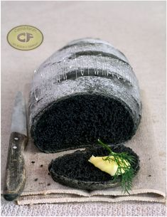Vegetable Charcoal Bread