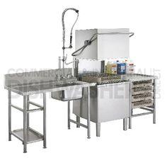 Glasswash Kitchen Sink, Vanity, Hardware, Table, Home Decor, Industrial Kitchens, Dressing Tables, Powder Room, Decoration Home