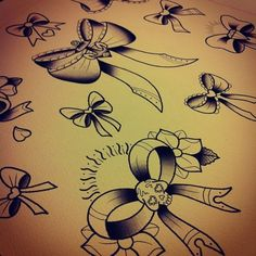 Really want a bow tattoo!!