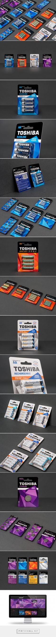 #Toshiba #Batteries For #European Market designed by NECON - http://www.packagingoftheworld.com/2015/06/toshiba-batteries-for-european-market.html