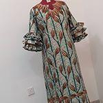 Ankara Short Gown Styles, Short Gowns, African Maxi Dresses, African Attire, Kaftan Pattern, Nigerian Men Fashion, Girls Casual Dresses, Mom Dress, African Print Fashion