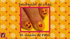 Diseño de uñas de emoticonos de El rincón de Patri Nail Art. Sigue todos nuestros diseños de decoración de uñas en http://www.rincondepatri.com Emoticones Nail Art