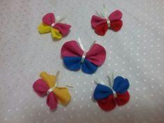 Borboletinhas  #borboletas #feltro #eloscriacoes