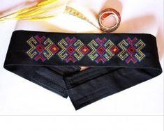 brau etno brodat Embroidery, Band, Personalized Items, Accessories, Fashion, Moda, Needlepoint, Sash, Fashion Styles