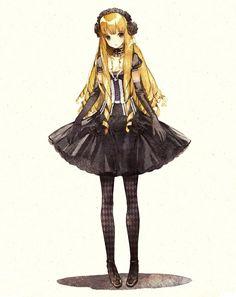 German Doll- Gothic Lolita
