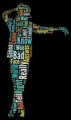 Michael Jackson Painting - Michael Jackson Typography Poster Bad by Florian Rodarte Michael Jackson Painting, Michael Jackson Party, The Jackson Five, Jackson Family, Marie Curie, James Dean, Steve Jobs, Michelangelo, Audrey Hepburn