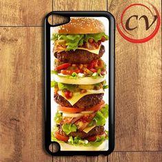burger Hamburger iPod 5 Case