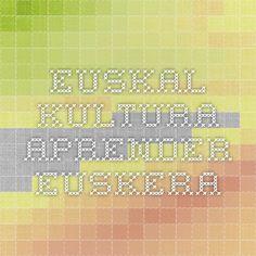 Euskal kultura - Aprender Euskera                    www.euskalkultura.com     Diaspora y cutura vasca