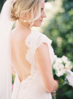This pretty lace Allure Bridals gown is perfection! http://www.stylemepretty.com/vault/image/4361954 | Photography: Sposto Photography - http://spostophotography.com/ #sponsored
