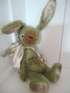 PDF Epattern 6.5 inch bunny / hare Clover от CatMaessen на Etsy