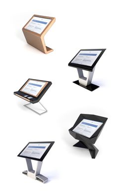 Concept-drafts of the multi-touch table body on Behance