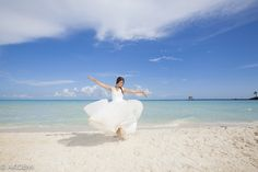 Wedding photo shooting at Isla Mujeres ウエディング フォトセッション イスラムヘーレス AkiDemi Photography  www.akidemi.com