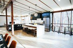 HGTV fixer upper   mid century modern redo   kitchen