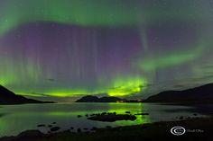 Auroras Boreales en Noruega.-