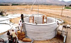 Ferro-cement homes are typically based on shell designs using domes, vaults, or complex free-form shapes usually featuring clusters of singl...