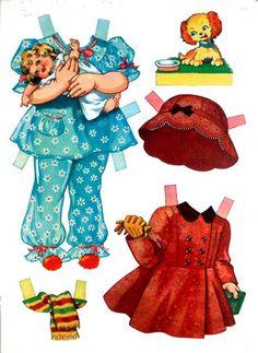 Anne A Paper Doll - Debbie -  Me pasaba horas jugando con estas muñecas y sus vestidos.