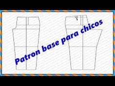 """Como hacer el trazo base de pantalon para chicos """"Peticion"""" - YouTube T 4, Baby Kids, Blog, Sewing, Youtube Youtube, Mary, Fashion, Kids Modeling, Kids Fashion"""