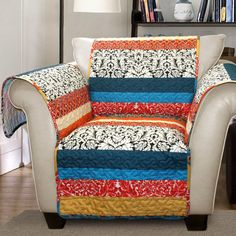 Special Edition by Lush Decor Boho Stripe Loveseat Furniture