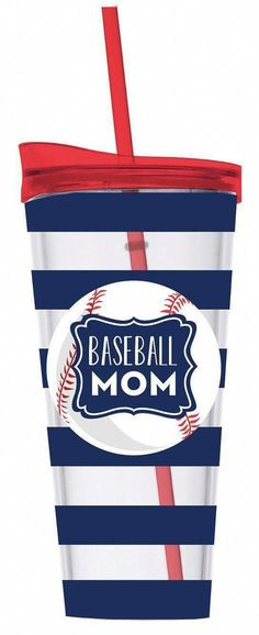 129449e24333 Monogrammed 22 oz Baseball Mom Double Wall Instulated Acrylic Tumbler With  Lid   Straw   Monogrammed Tumbler   Vinyl Personalized Cup   Gift