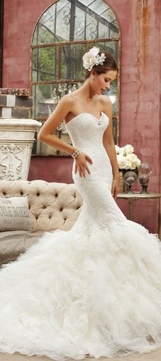 ♡ Wedding Story ♡ Sophia Tolli wedding dress