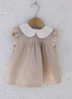 Vestido bebe menina retro/vintage