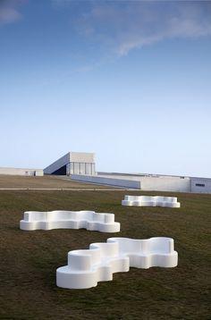 Das Designer Gartensofa Cloverleaf Von Verpan Ist UV  Und Wetterbeständig