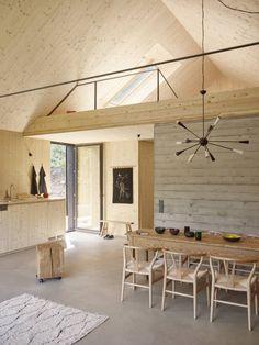 Haus am Thurnberger Stausee: moderne Esszimmer von Backraum Architektur
