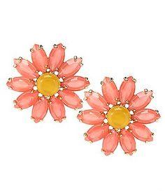 kate spade new york Brilliant Bouquet Statement Stud Earrings