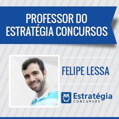 Felipe Lessa é professor de  Raciocínio Lógico, Contabilidade de Instituições Financeiras e Supervisão de Instituições Financeiras. Formado em Engenharia de Telecomunicações pelo Instituto Militar de Engenharia (IME), atualmente é Auditor-Fiscal da Receita Federal do Brasil.https://www.estrategiaconcursos.com.br/professor/felipe-lessa-3291/