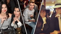 Justin Bieber is just plowing through all of the Kardashian sisters