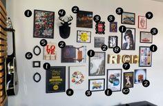 4 Organização de quadros na parede   Faça você mesmo